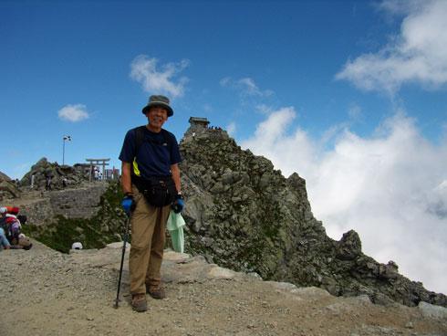 立山頂上雄山神社前