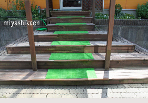 階段のマット 張り替え