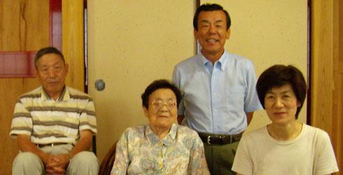 妻の母と兄夫婦