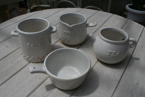 底穴の開いていない陶器鉢
