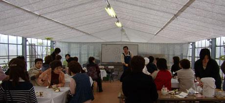 石川地区理容組合女性部の教室