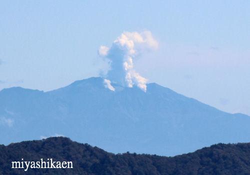 御嶽山の噴煙