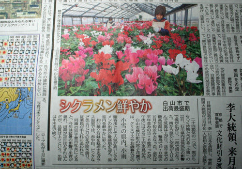 北國新聞の夕刊