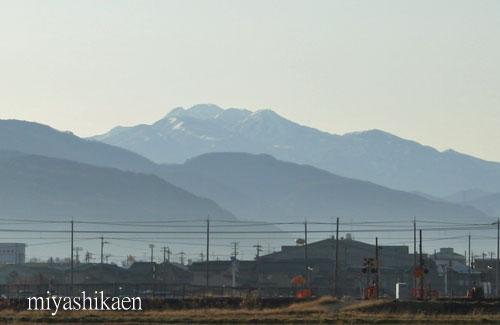 霊峰白山 09.12.01