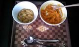 野菜ジュースパン粥