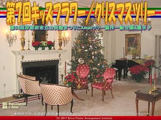 第7回キッズフラワー(3)/Christmas Tree画像02 ▼画像クリックで640x480pxlsに拡大@エリ子花前カレン