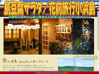 島豆腐サラダ/花前旅行小浜島画像01
