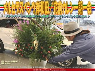 ベンツ岸和田フラワーアレンジ(2)/花前カレン画像01