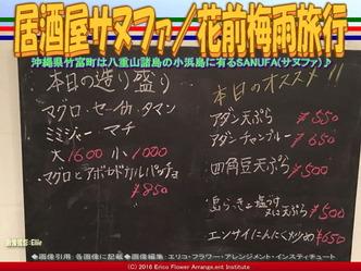居酒屋サヌファ/花前梅雨旅行画像02