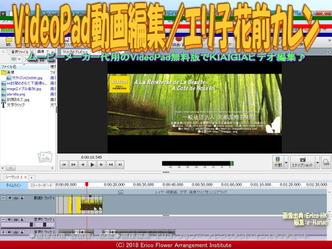VideoPad動画編集(2)/エリ子花前カレン画像02 ▼画像クリックで640x480pxlsに拡大@エリ子花前カレン