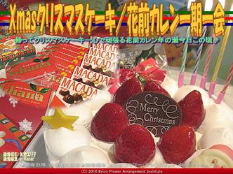 Xmasクリスマスケーキ/花前カレン一期一会画像01