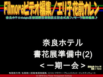 Filmoraビデオ編集(6)/エリ子花前カレン画像01 ▼画像クリックで640x480pxlsに拡大@エリ子花前カレン