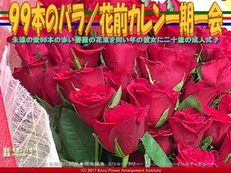99本の薔薇の花束(6)/花前カレン画像02