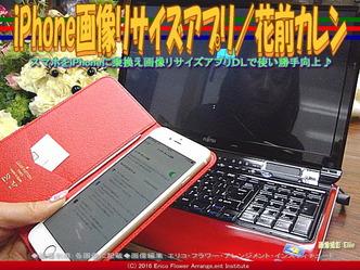 iPhone画像リサイズアプリ/花前カレン画像02