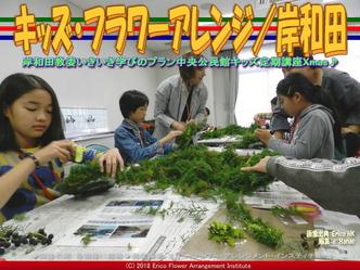 岸和田キッズ・フラワー(2)/Xmasアレンジ画像01 ▼画像クリックで640x480pxlsに拡大@エリ子花前カレン
