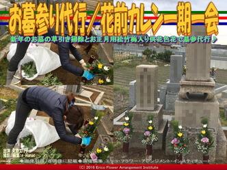 お墓参り草引き清掃供花/花前カレン画像02