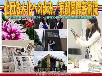 社団法人化への歩み/京都国際芸術院画像02 ▼画像クリックで640x480pxlsに拡大@エリ子花前カレン