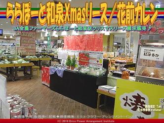 ららぽーと和泉Xmasリース/花前カレン画像03