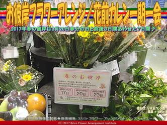 お彼岸フラワーアレンジ(5)/花前カレン画像01