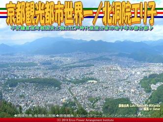 京都観光都市世界一(2)/北洞院エリ子画像01 ▼画像クリックで640x480pxlsに拡大@エリ子花前カレン