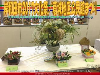 岸和田市2017文化祭(5)/葛城地区公民館まつり画像02▼画像クリックで640x480pxlsに拡大@エリ子花前カレン