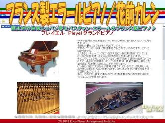 フランス製エラールピアノ(6)/花前カレン画像02 ▼画像クリックで640x480pxlsに拡大@エリ子花前カレン