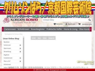 クリムゾンばら(5)/京都国際芸術院画像01 ▼画像クリックで640x480pxlsに拡大@エリ子花前カレン