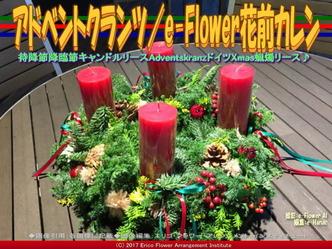 アドベントクランツ/e-Flower花前カレン画像02▼画像クリックで640x480pxlsに拡大@エリ子花前カレン