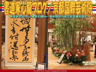 書道家心龍ブログ/京都国際芸術院画像02 ▼画像クリックで640x480pxlsに拡大@エリ子花前カレン
