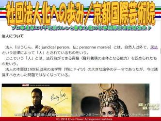 社団法人化への歩み(5)/京都国際芸術院画像02▼画像クリックで640x480pxlsに拡大@エリ子花前カレン