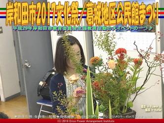 岸和田市2017文化祭(3)/葛城地区公民館まつり画像02▼画像クリックで640x480pxlsに拡大@エリ子花前カレン