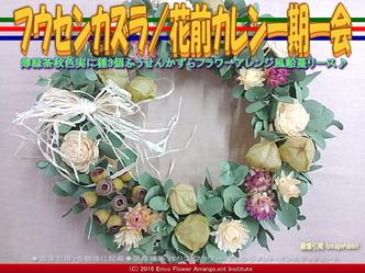 フウセンカズラ花アレンジ/花前カレン画像01
