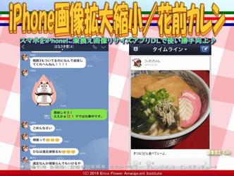 iPhone画像拡大縮小/花前カレン画像02