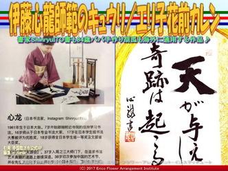 書家心龍師範胡瓜(5)/エリ子花前カレン画像01