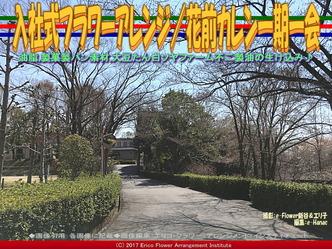 入社式フラワーアレンジ(3) /花前カレン一期一会画像03