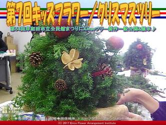第7回キッズフラワー/クリスマスツリー画像01 ▼画像クリックで640x480pxlsに拡大@エリ子花前カレン