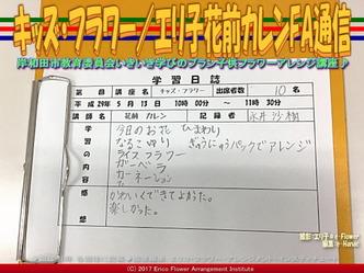キッズ・フラワー(3)/エリ子花前カレンFA通信画像02