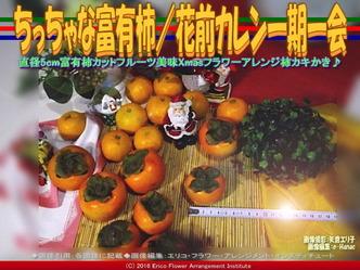 日本の柿文化/フラワーアレンジ花前カレン画像02