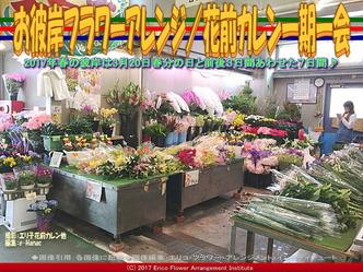 お彼岸フラワーアレンジ(11)/花前カレン画像01