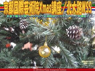 京都国際芸術院Xmas講座(4)/北大路WSS画像01 ▼画像クリックで640x480pxlsに拡大@北洞院エリ子花前カレン