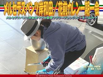 ベンツ岸和田フラワーアレンジ(3)/花前カレン画像01