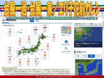 台風一過・台風一家(4)/エリ子花前カレン画像01