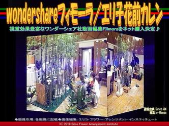 wondershareフィモーラ(2)/エリ子花前カレン画像02 ▼画像クリックで640x480pxlsに拡大@エリ子花前カレン