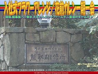 入社式フラワーアレンジ(2)/花前カレン一期一会画像03