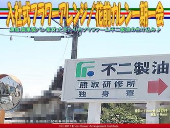 入社式フラワーアレンジ/花前カレン一期一会画像02
