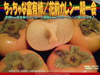 日本の柿文化/フラワーアレンジ花前カレン画像03