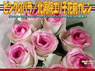 ピンクのバラ(2)/北洞院エリ子花前カレン画像02 ▼画像クリックで640x480pxlsに拡大@北洞院エリ子花前カレン
