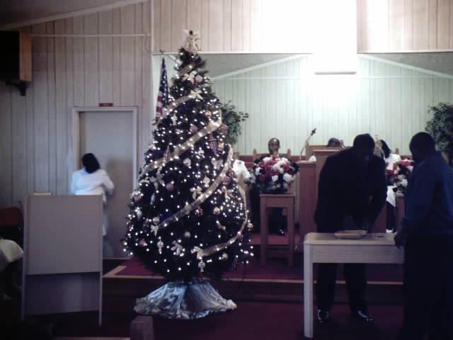 Christmas Tree 教会