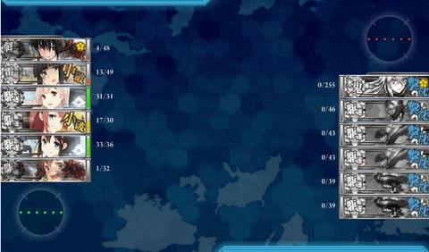 【艦これ】2015秋イベE-5周回ログ