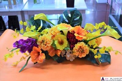 沖縄の会場装花